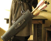 Medieval Viking Celtic Fighter Men-at-Arms Knight Leather Quiver