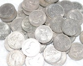 Lucky Sixpence. Christmas Tradition. Sixpence for the Pudding. British Sixpence coin. Christmas Luck Christmas Pudding, Cracker Prize/Gift.