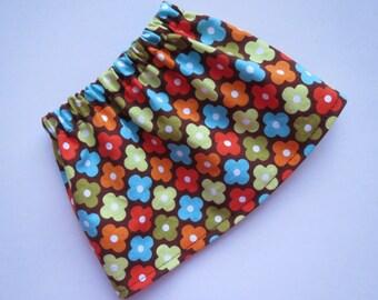 Spring Flower Skirt for 18 inch American Girl or Bitty Baby doll