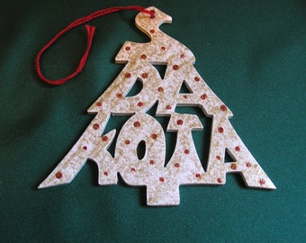 South Dakota ornament, tree shaped