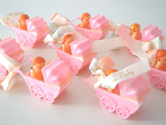 Baby Shower Favors Hong Kong ~ Items similar to vintage baby shower favors decorations