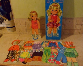 Swingy the Magic Paper Doll, 1969 Mattel Toy   (T)