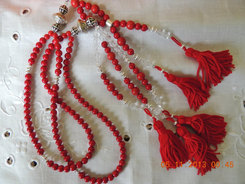 Handmade Sokka Gakkai Beads Sgi Juzu Buddhist By