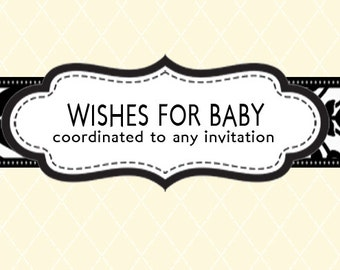 Coordinating Wishes for Baby - Design Add On