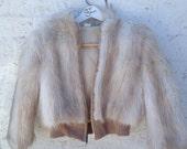 VTG Faux Fur Bomber