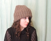 Crochet Wool Beanie Hat - Made to Order Winter Hat