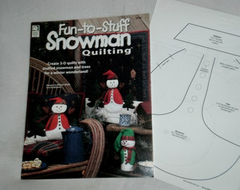 Fun to Stuff Snowman Quilting Book