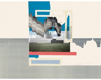 Abstract collage, Abstract composition 51