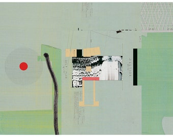 Abstract collage, Abstract composition 59