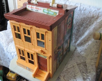 Fisher Price Little People Sesame Street House.Hard to Find,Fisher Price Toys,Toys,Vintage Toys,Doll house