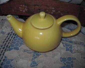 Bright and Sunny Yellow  Small Tea Pot  :)