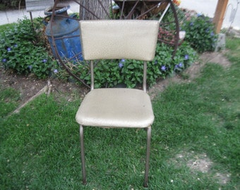 Gold Vintage Kitchen Chair