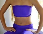 Bandeau in bright violet for Bikram yoga