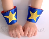 Reversible Star Wristers: You Choose the Colors