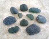Lot of Genuine Tumbled Olive Green Sea Glass (SG10)