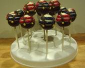 Tweedle Dee and Tweedle Dum Cake Pops (10)