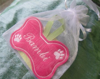 All Dogs Go to Heaven Ornament Keepsake.  CUSTOMIZED with Dog's Name