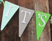 Its a Boy Banner, Baby Shower Banner, Baby Shower Decorations, Baby boy shower decorations, Boy OH Boy