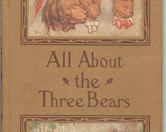 Vintage All About the Three Bears