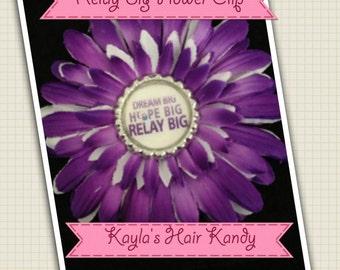 Relay Big Flower Clip