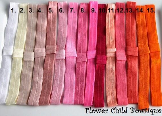 Ten FOE headbands - You Choose Ten Colors