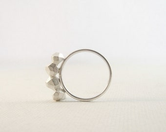 Meteorite Jewelry / Sterling Silver Ring