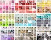 You Choose - Custom Pair of Designer Curtain Panels 50 x 63