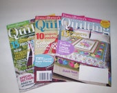 Fons & Porter's Love of QUILTING Magazines, Quilting - Quantity of 5 - American's Favorite Quilting Magazine -