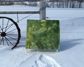 Green Moss - Snow Dyed cotton