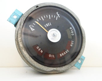 Vintage fuel gauge, 1965 Oldsmobile 98, GM