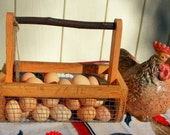 Basket-{BURLIN} Garden Harvesting Basket-Egg Gathering Basket,  Small Size