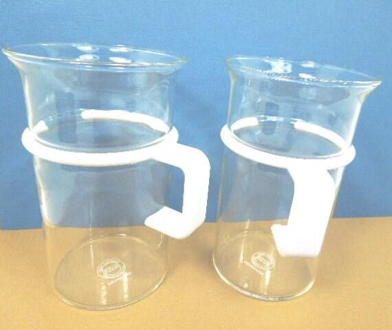 Vintage Glass Bodum Coffee Mugs Bodum Glass Coffee By