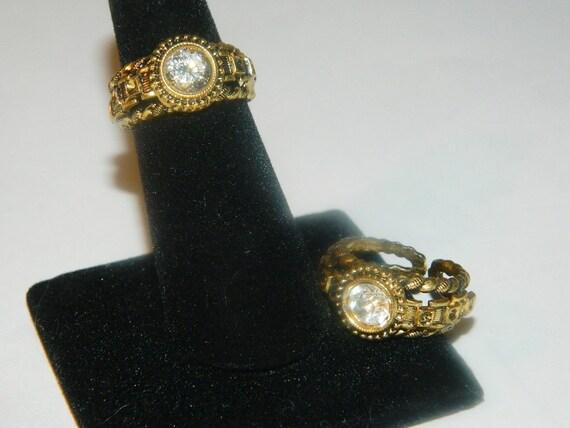 Rings friend, twin, two rings