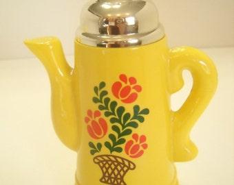 1970s Avon Koffee Klatch, Field Flowers Foaming Bath Oil, 5 fl. oz. Full Bottle (2)
