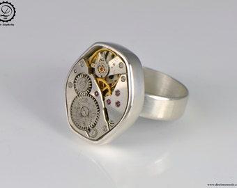 Gamma Ring - Tempus Fugit Series   Machinarium Collection