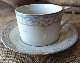 So Lovely Mikasa Charmaine 5595 Cup and Saucer Set
