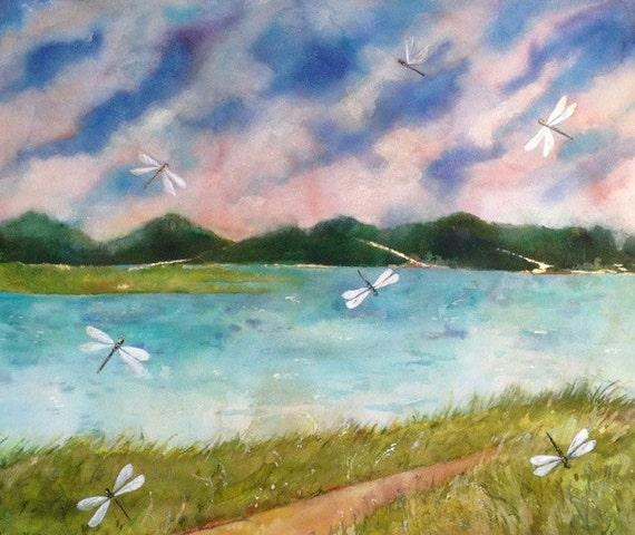 Gull Pond Dragonflies In Wellfleet MA Is An Original