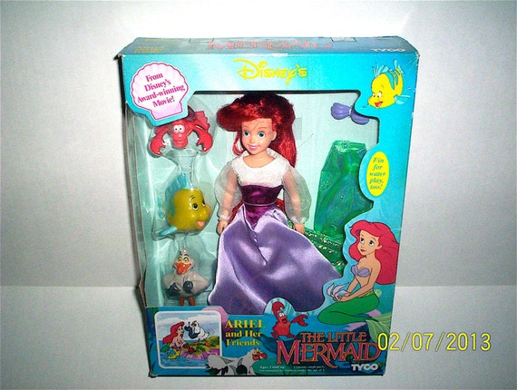 Disney Little Mermaid Doll - Ariel and Her Friends by Tyco