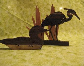 Great Blue Heron bird puzzle