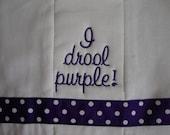 Wildcat Burp Cloth
