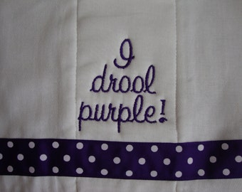 Wildcat Burp Cloth