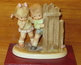 If You Can't Be Good, Be Careful   A Memories of Yesterday Figurine (Retired)