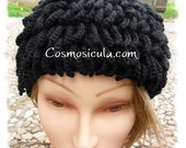 Inspired by Billy Gibbons hat - ZZ Top Beanie - Bamileke Nudu Hat - Handmade crochet