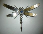 Dragonfly Recycled Metal Art