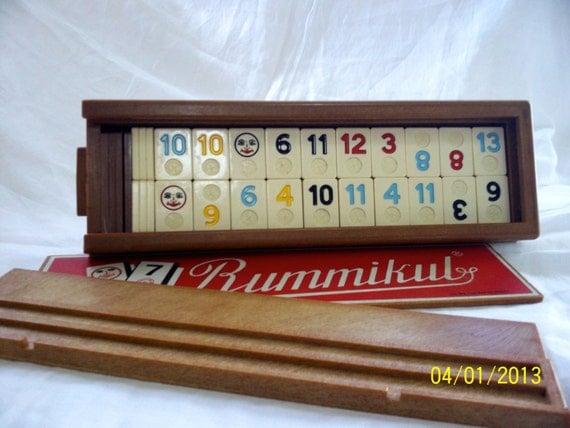 Vintage Rummikub Game Made in Israel