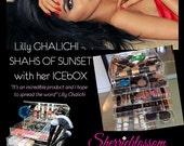 ICEbOX WIDE - Most Popular Celebrity Luxury Makeup Organizer