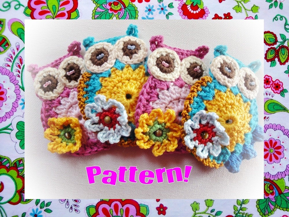 Estelle Owl Crochet Pattern