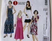 Easy McCall's 1 Hour Dress Sewing Pattern M5893 Plus Size 18W-24W New and Uncut Pattern