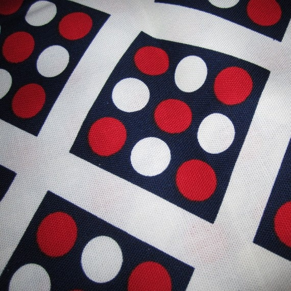 Red White And Blue Fabric Nautical Sewing Fabric Sewing