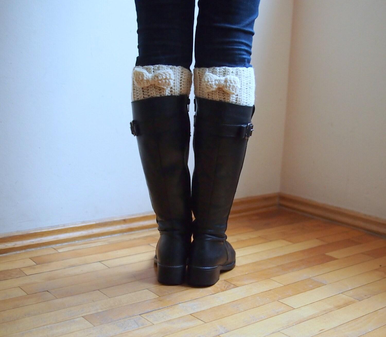 Crochet pattern women boot cuff ribbed legwarmers short socks zoom bankloansurffo Choice Image